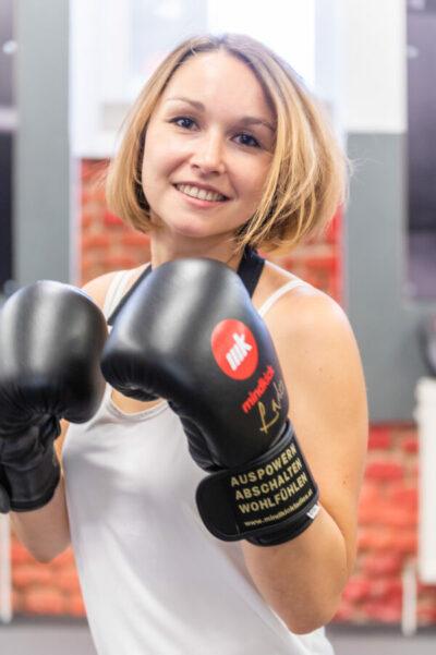 Fitness Kickboxen in Wien mit Lisa